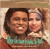 Jermaine Jackson / Pia Zadora - When the rain begins to fall