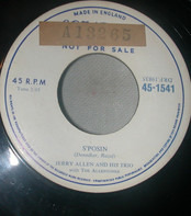 Jerry Allen And His Trio - S'Posin/When I Needed You Most