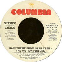 Jerry Goldsmith - Main Theme From Star Trek - The Motion Picture