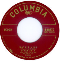 Jerry Vale With Percy Faith And His Orchestra And Chorus - Mother Mine / Tell Me So