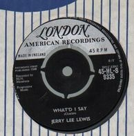 Jerry Lee Lewis - What'd I Say