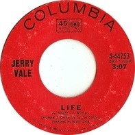 Jerry Vale - Life / Congratulations, I Guess