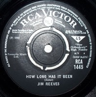 Jim Reeves - How Long Has It Been