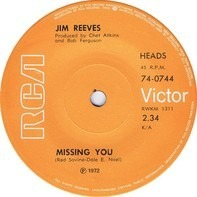 Jim Reeves - Missing You / The Tie That Binds