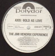 The Jimi Hendrix Experience - Are You Experienced / Axis: Blood As Love
