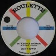 Jimmy Bowen - My Kind Of Woman / Blue Moon