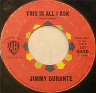 Jimmy Durante - Hello, Young Lovers / This Is All I Ask