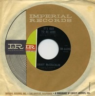 Jimmy McCracklin - It's Got To Be Love / Sorry