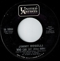 Jimmy Roselli - Who Can Say (Africa Addio)