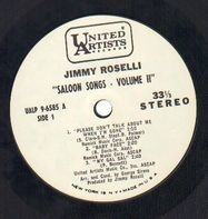 Jimmy Roselli - Saloon Songs Volume Two