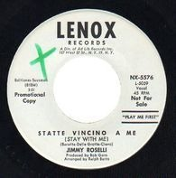 Jimmy Roselli - Statte Vincino A Me = Stay Close To Me