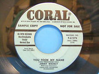 Jimmy Wakely - When I Stop Loving You / You Took My Name