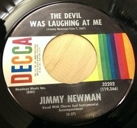 Jimmy C. Newman - The Devil Was Laughing At Me
