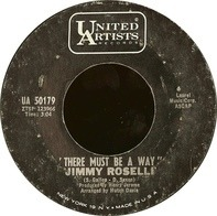 Jimmy Roselli - There Must Be A Way / I'm Yours To Command
