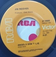 Jim Reeves - Angels Don't Lie / You Kept Me Awake Last Night