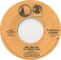 Joe Walsh / Gilley's 'Urban Cowboy' Band - All Night Long / Orange Blossom Special / Hoedown