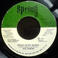 Joe Simon - Music In My Bones / Fire Burning