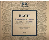 Johann Sebastian Bach - Winterthur Symphony Orchestra , Walter Goehr - Brandenburgische Konzerte