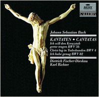 Johann Sebastian Bach / Dietrich Fischer-Dieskau , Karl Richter - Kantaten