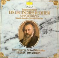 Johannes Brahms - Gundula Janowitz , Eberhard Wächter , Wiener Singverein , Berliner Philharmoniker - Ein Deutsches Requiem / Haydn-Variations