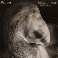 Johannes Brahms - Peter Schreier , Peter Rösel - Lieder Mit Peter Schreier