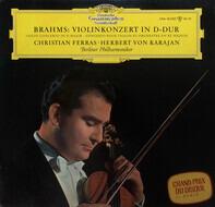 Brahms / Ferras / Karajan - Konzert für Violine und Orchester D-dur