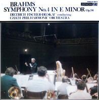 Johannes Brahms , Dietrich Fischer-Dieskau • The Czech Philharmonic Orchestra - Symphony No. 4