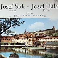 Johannes Brahms , Edvard Grieg , Josef Hála , Josef Suk - Violinsonaten