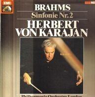 Johannes Brahms , Herbert von Karajan , Philharmonia Orchestra - Sinfonie Nr.2