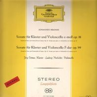 Johannes Brahms (Jörg Demus, Ludwig Hoelscher) - Sonate Fur Klavier Und Violoncello E-moll Op. 38 /  Sonate Fur Klavier Und Violoncello F-dur Op. 99