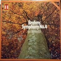 "Johannes Brahms , Ludwig van Beethoven , Orchestre Des Concerts Lamoureux , Igor Markevitch - Symphony No. 4 in E minor, Op. 98, Overture ""Zur Namensfeier"", Op. 115"