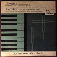 Johannes Brahms / Franz Schubert - Liebeslieder Op. 52 / Der Hirt Auf Dem Felsen D. 965