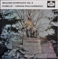 Johannes Brahms , Rafael Kubelik ∙ Wiener Philharmoniker - Symphony No. 4