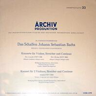 Bach - 'Das Schaffen Johann Sebastian Bachs' Serie K: Instrumentalkonzerte