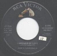 John D. Loudermilk - Language Of Love / Darling Jane