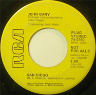 John Gary - San Diego / A Good Old Time Love Song