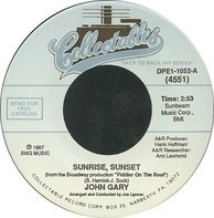 John Gary - Sunrise, Sunset / Soon I'll Wed My Love
