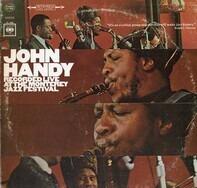 John Handy - Recorded Live At The Monterey Jazz Festival