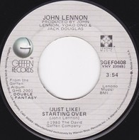 John Lennon - (Just Like) Starting Over / Woman