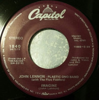 John Lennon , The Plastic Ono Band With The Flux Fiddlers - Imagine