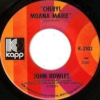 John Rowles - Cheryl Moana Marie