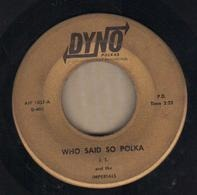 John Teslovich And The Imperials - Who Said So Polka / I'm A Sport