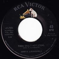 John D. Loudermilk - Thou Shalt Not Steal / Mister Jones