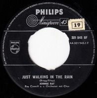 Johnnie Ray With Ray Conniff And His Orchestra & Chorus - Just Walking In The Rain / In The Candlelight