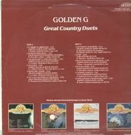 Johnny Cash and June Carter, David Houston and Barbara Mandrell - Golden G Great Country Duets