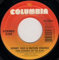 Johnny Cash & Waylon Jennings - Even Cowgirls Get The Blues / American By Birth