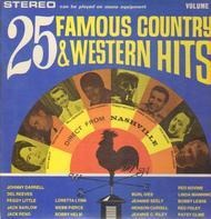 Johnny Darrell, Glen Campbell a.o. - 25 Famous Country & Western Hits Volume III