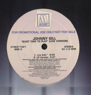 Johnny Gill - Quit Time To Play (4Versions)