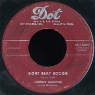 Johnny Maddox And The Rhythmasters - Eight Beat Boogie / Learning