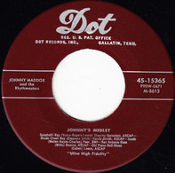 Johnny Maddox And The Rhythmasters - Johnny's Medley / The Whistlin' Piano Man